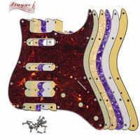 Pleroo Gitarre Teile-Für FD UNS 11 Montage Schraube Loch Standard Starten Player Hss Gitarre schlagbrett Doppel pickup schraube loch