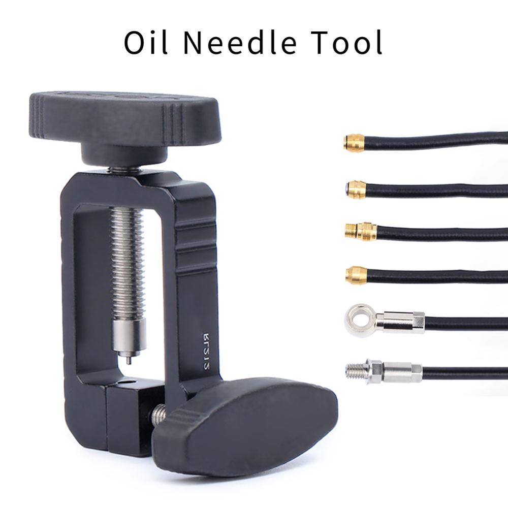 Mountain Bike Road Bike Disc Brake Bicycle Oil Needle Olive Head Installation Push Into Tool Inserter Cycling Accessories