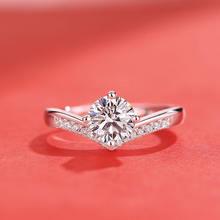 Женское кольцо серебряного цвета классическое ювелирное изделие