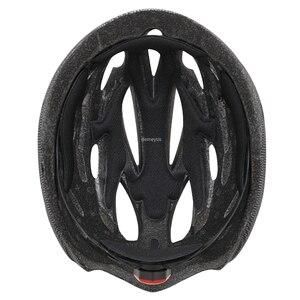 Image 5 - 超軽量サイクリング安全ヘルメット屋外オートバイ自転車テールライトヘルメットリムーバブルレンズバイザーマウンテンロードバイクヘルメット