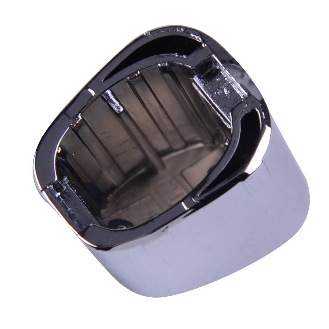 DWCX dźwignia hamulca ręcznego głowy Push pokrętło hamulec postojowy przycisk dekoracyjne pokrycie wymiana fit dla VW Polo CROSS GTI 6RD711333A