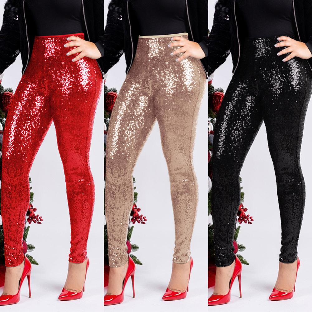Men/'s Harem Party Clubwear Pants Shining Sequined Long Trousers Costume Bottoms