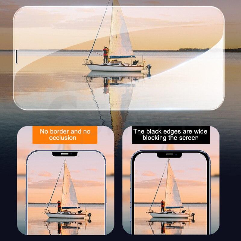 9H Gehard Beschermende Glas Voor Iphone 11 12 Pro Xr X Xs Max Screen Protector Film Op Iphone 7 6 8 6S Plus 5 5S Se 2020 Glas 3