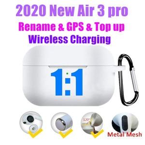 Air 3 Pro TWS Bluetooth Earphones True Wireless Earbuds 1:1 Clone HIFI Bass in Ear Headphones PK i12 i900000 Max i99999 plus