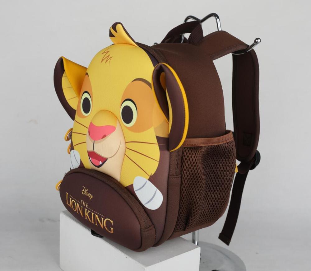 100% Genuino Il Re Leone Simba 2020 Nuovo Zaino Per Bambini anti-perso Re Leone cute della Scuola Dei Bambini del Sacchetto giocattolo regalo di compleanno bambola 4