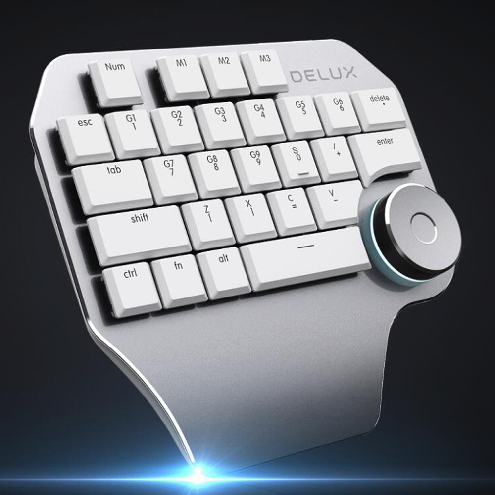 T11 designer single hand keyboard