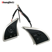For Mitsubishi ASX 2013 2014 2016 Space Star Cruise Speed Control Switch Audio Bluetooth Volume Button Steering Wheel Buttons