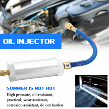 KKMOON Dye Injector Air Conditioning Car Oil Injection R12 R134A R22 Dye Injection 2 Ounce Pure Liquid Coolant Filler Tube