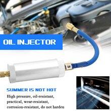 Wtryskiwacz barwnika KKMOON klimatyzacja wtryskiwacz oleju samochodowego R12 R134A R22 wtrysk barwnika 2 uncje czysty płyn chłodzący rura wypełniająca