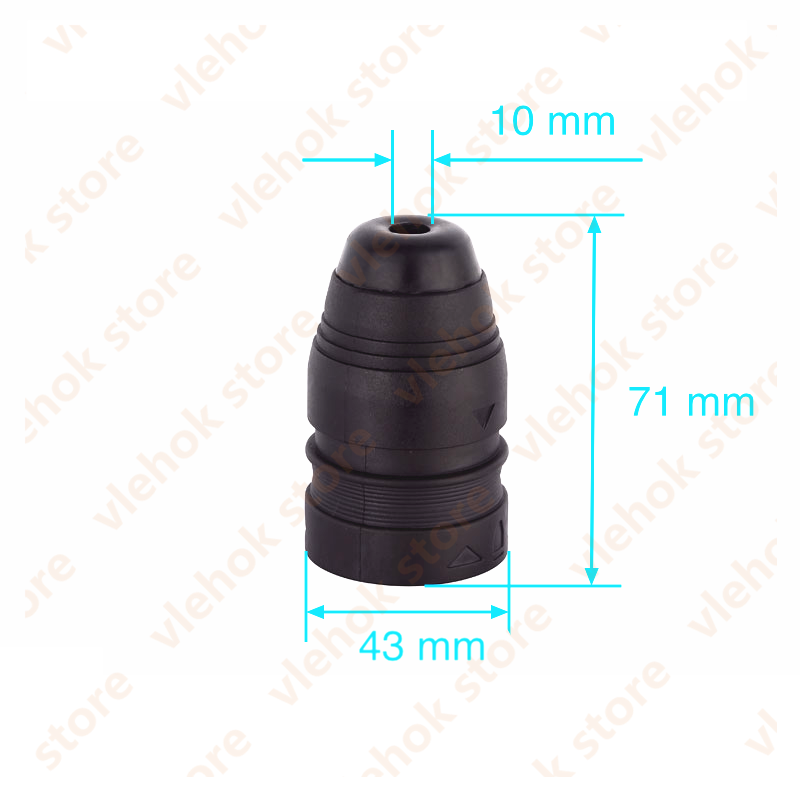 Electric Hammer Quick Change Cylinder Chuck Replace For BOSCH GBH2-24DFR GBH2-24 GBH2-24DFV Power Tool Accessories Electric Tool