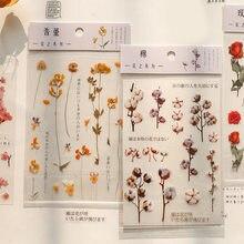 1 folha kawaii flor sakura rosa pet adesivo diário planejador adesivos scrapbooking escola material de escritório bala diário sl2600