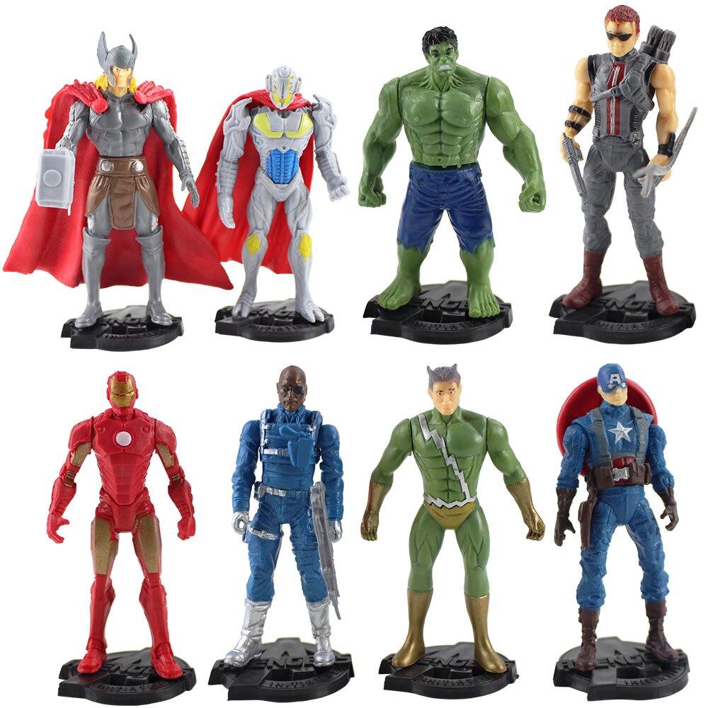 Avengers Iron-Man Spider-Man Hulk Loki Thor Captain Amerca Dr Strange Necklace