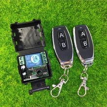 DC 12 v 1CH mini interruttore di telecomando senza fili di Apprendimento codice ricevitore trasmettitore Per Uso Domestico/led/led/power on off