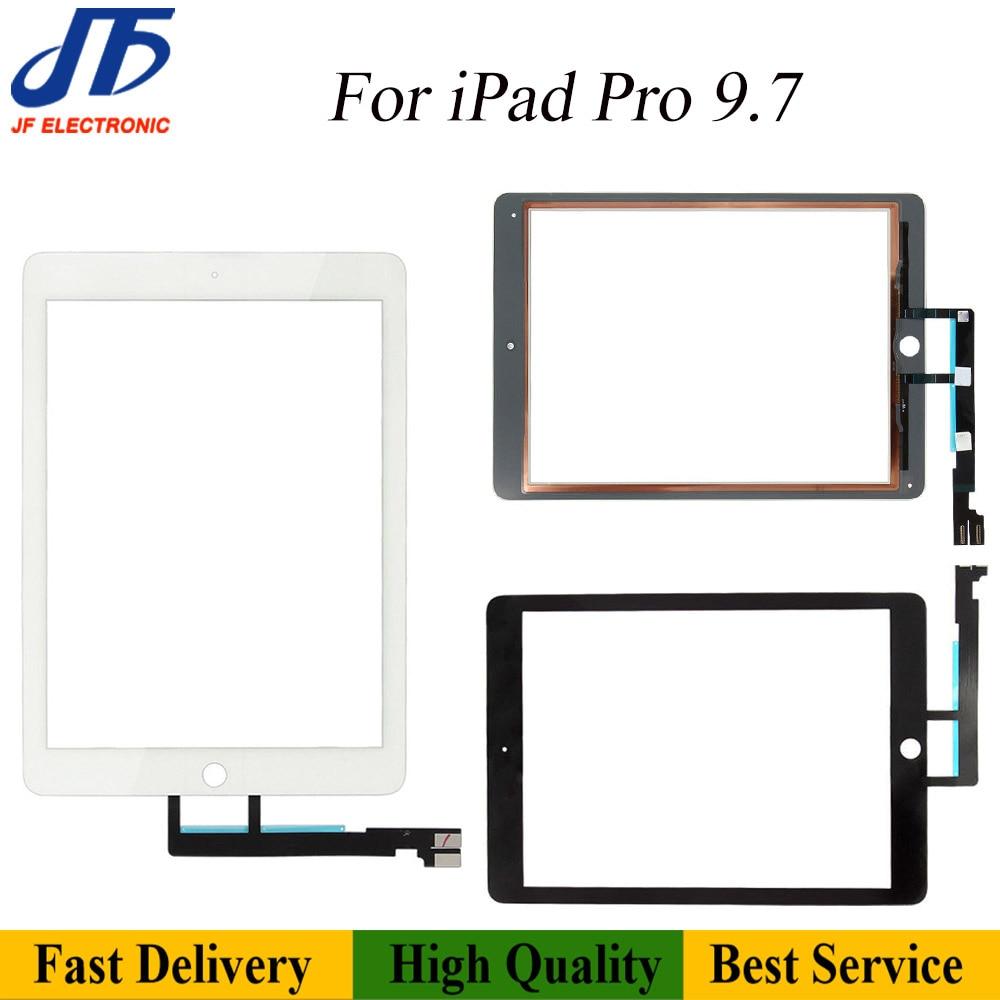 5 шт. для iPad Pro 10,5 A1701 A1709 9,7 A1673 A1674 12,9 A1584 сенсорный экран дигитайзер передняя внешняя панель Стекло + клей