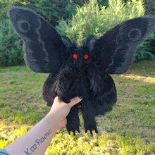 Plushie-Juguetes De felpa de animales Para Niños, Juguetes de estilo gótico de Mothman Para el amor y el hogar mágico, 2021