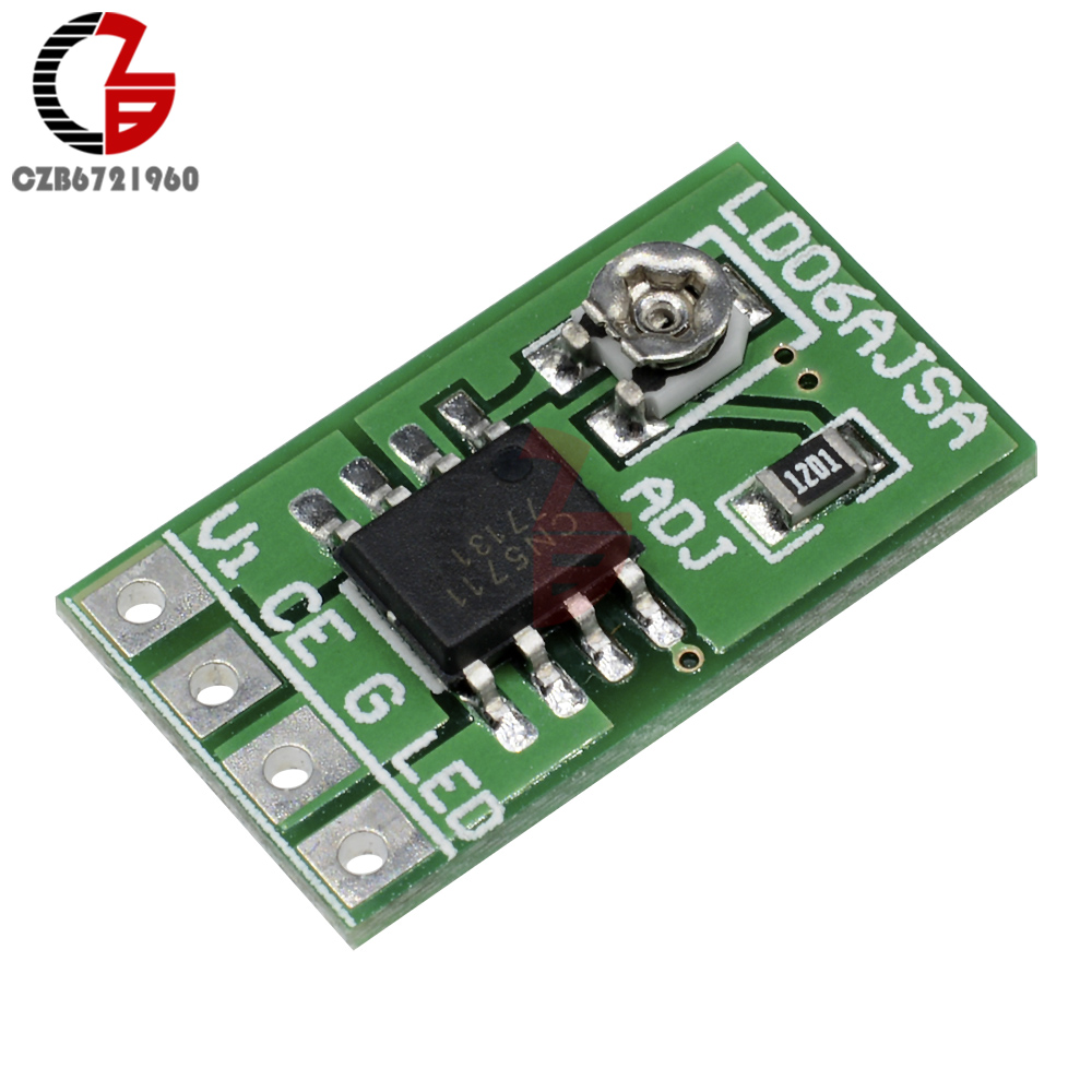 DC 2.V-<font><b>6V</b></font> <font><b>LED</b></font> <font><b>Driver</b></font> Module 30-1500mA Constant Current 3.3V 3.7V 5V PWM Control Board TTL COMS for ARM AVR <font><b>LED</b></font> Strip Light image