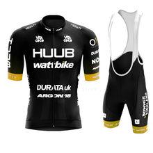 2021 Ribble Weldtite Cycling Jersey Set HUUB Cycling Clothing Men Road Bike Shirts Suit Bicycle Bib Shorts MTB Maillot Culotte