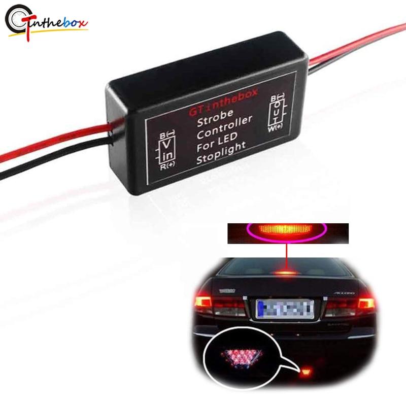 1PCS Flash Strobe Controller Car Flasher Module for Brake Light Tail Stop Light