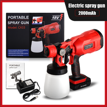 Electric Paint Spray Gun Large Capacity 550W 18V Tools For Home For Garden For Painting Sprayer Gun Airbrush