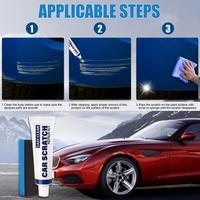 Paint Care 15ml Car Remover Scratch Repair Paint Car Wash Paste Touch Up Kit Auto Care Maintenance Car Accessories 6