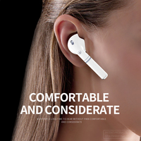2020 TWS Real Color Large Screen Digital Display Bluetooth Earbuds Custom Logo Picture Waterproof Subwoofer HiFi Stereo
