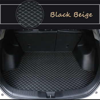 Flat Side Cargo Liner For Jeep Wrangler sedan model (2015-2020) 2019 2018 2017 All auto Car Trunk Mats Waterproof  Boot Carpets