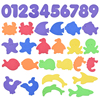 34pcs sea animals