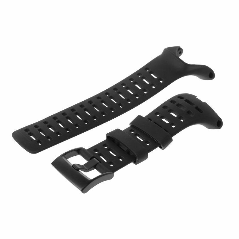 Watch Band Strap Flexible Rubber Watch Replacement Wrist Watch Bands Strap For Suunto Ambit 1/2/2S/2R/3 Sport/3 Run/3 PEAK