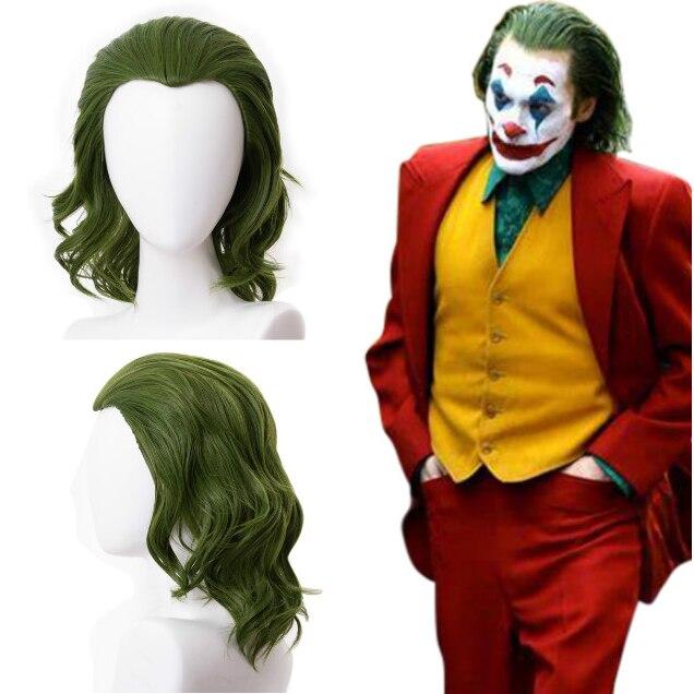 Peluca verde disfraz de joker