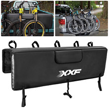 Bike Tailgate Cover Protection Pad Mountain Bike Pick-up Pad with 5 Bike Frame Fixing Straps for Truck Bike Accessories