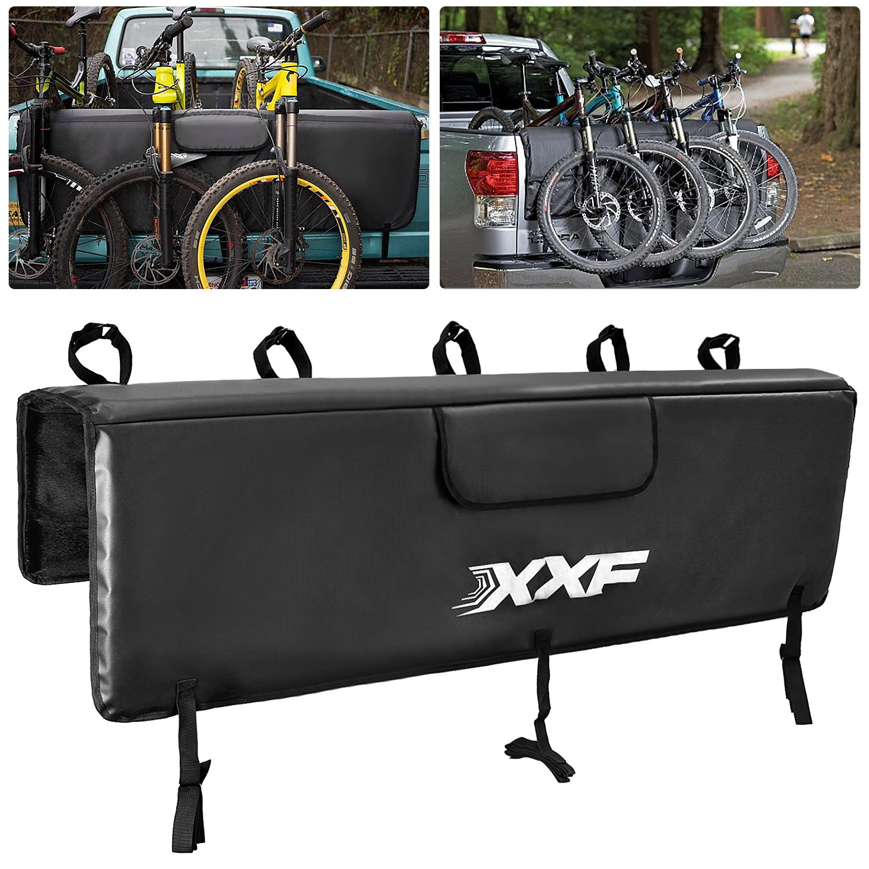 Hayon Couverture Coussin de Protection VTT Pick-up Avec 5 Cadre de vélo Sangles De Fixation Pour camion