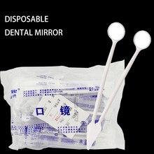 Anti-nevoeiro espelho oral descartável dentista exame boca espelho ferramenta dentária dental descartável kit instrumento dentista preparado ferramentas