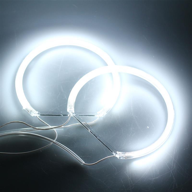Image 2 - CCFL phare tubulaire Flexible 4 pièces  Ange Eagle Eyes, lumière blanche pour BMW E36 3 E38 7 E39 5 E46 (131*2 + 146*2), nouvelle collectionAccessoires pour feux de voiture   -