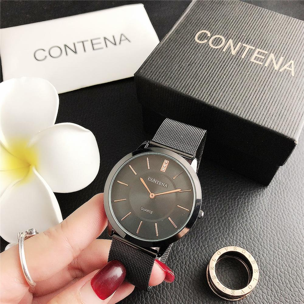 CONTENA Men's and Women's Fashion Mesh Business Watch