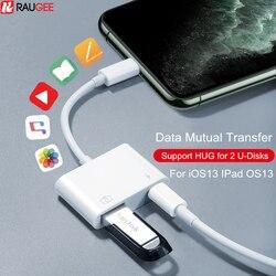 Adattatore OTG per Fulmine a USB lettore di Schede Flash Drive Del Mouse Fotocamera Tastiera del Convertitore OTG Cavo Adattatore USB per il iPhone iPad