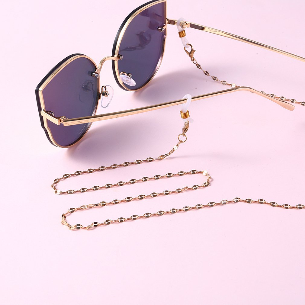 HOT Women's Simple Sunglasses Chain Hanging Neck Anti-glass Ropes Pearl Glasses Chain Glasses Accessories Hot