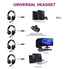 L8 Gaming Headset Head-Mounted Wired 3.5Mm Interface For Ps4 Game Accessories