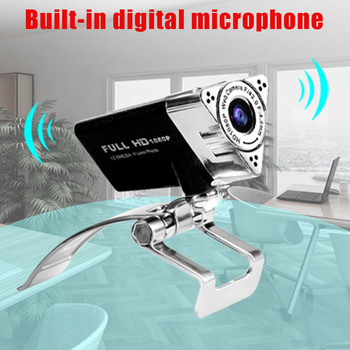 HD1080P Drive-free Noise Reduction Computer Camera with Built-in Microphone Webcam AS99