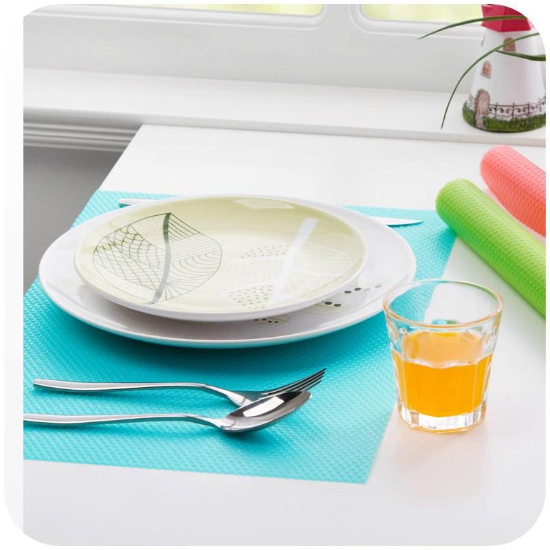 4pcs/set Refrigerator Pad Antibacterial Antifouling Mildew Refrigerator Mats Moistureproof Waterproof Pad Tailorable Fridge Mats 6