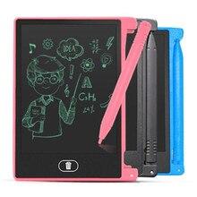 Креативный планшет для рисования 4,5 дюймов блокнот цифровой lcd графическая доска почерк доска объявлений для образования бизнеса