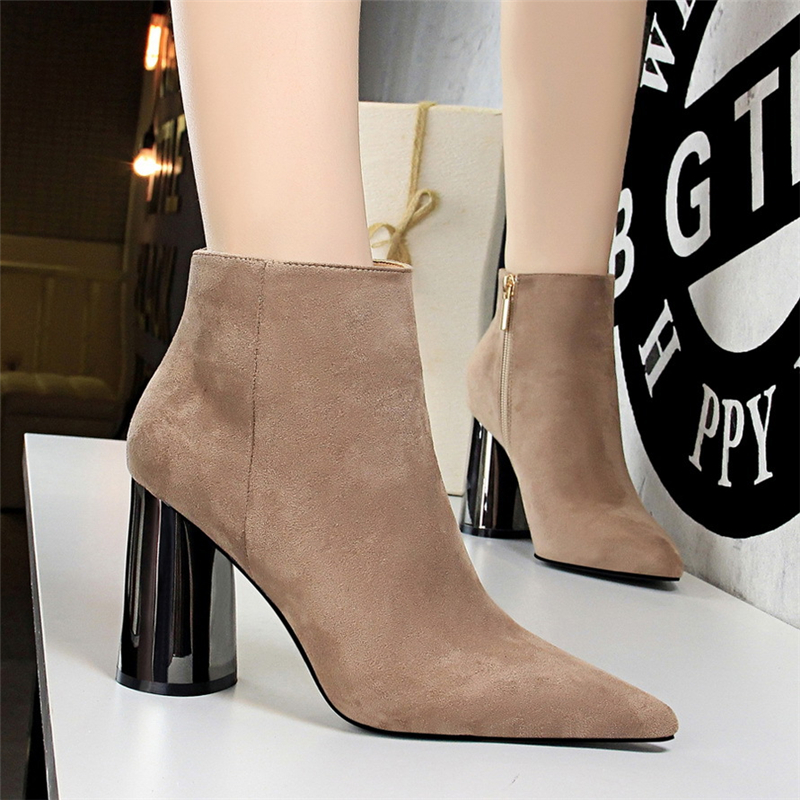 sexy <font><b>boots</b></font> women winter <font><b>boots</b></font> <font><b>block</b></font> <font><b>heel</b></font> shoes woman shoes luxury Thick <font><b>heel</b></font> winter shoes womens <font><b>boots</b></font> <font><b>ankle</b></font> extreme high <font><b>heels</b></font> image