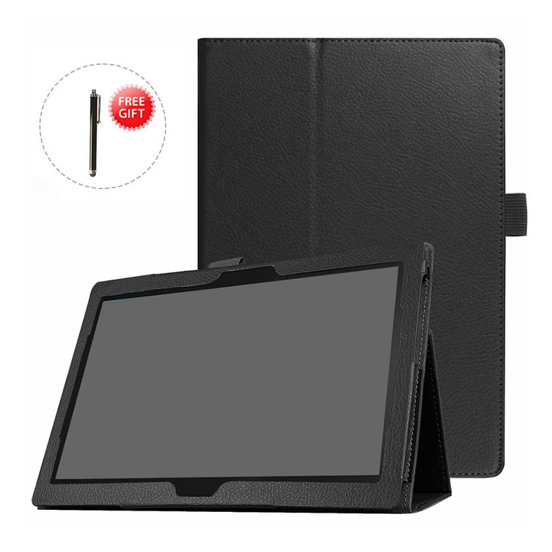 Cover For Lenovo Tab M10 10.1 TB-X605L Slim Folding Stand Flip Case PU Leather Cover For Lenovo Tab P10 TB-X705L 10.1 Inch Cases