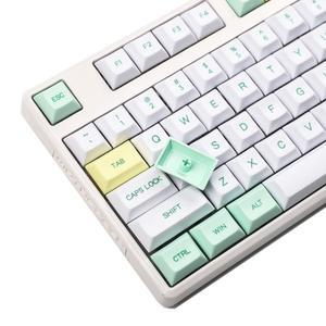 Image 4 - YMDK llaveros de perfil DSA para teclado mecánico MX 120 87 61 YMD96 KBD75 FC980M VEA 104 SP64 GK64 Tada68, 75%