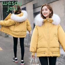 купить -15 degrees Women winter Parkas coat Fashion thick warm big fur collar hooded jacket coat winter jacket parkas female по цене 2129.79 рублей