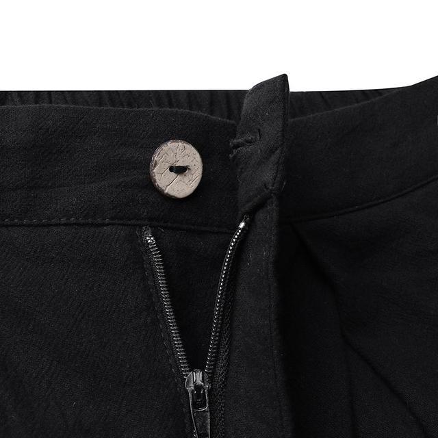 Plus Size Elegant Solid Wide Leg Pants 6