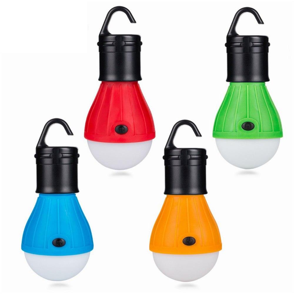 Portátil para Exteriores LED Acampada Luz Tienda Noche Luz Bombilla 60lm