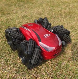 Image 4 - Mini coche eléctrico RC Control remoto juguete Radio Control Drift Car juguetes para niños regalos niños vehículo juguete 1:24 2555