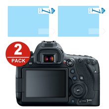 2x LCD Screen Protector Protection Film for Canon EOS 6D 7D Mark II 5D Mark IV III 5D4 5D3 5DS 5DSR 1Dx 1Dc M200 100D 200D 250D