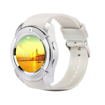 V8 SmartWatch Bluetooth Smartwatch Touch Screen Wrist Watch with Camera/SIM Card Slot, Waterproof Smart Watch PK DZ09 GT08 A1 digital watch bluetooth smart watch touch screen with camera watch mobile phone with sim card slot for android ios phone pk dz09