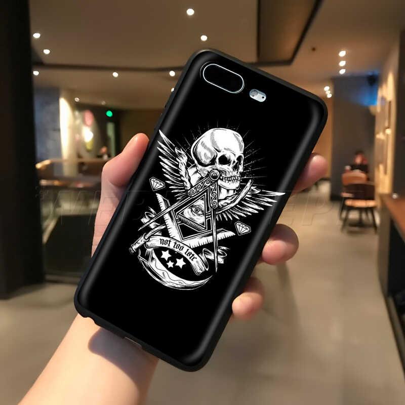 حافظة على شكل جمجمة شيطانية ومخيفة من Webbedepp لهواتف أبل آيفون 11 برو XS Max XR X 8 7 6 6S Plus 5 5s SE